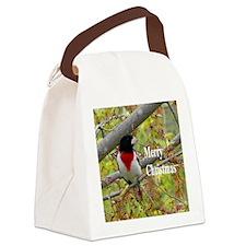 Rose-breasted Grosbeak Canvas Lunch Bag