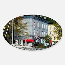 Kingston New York Sticker (Oval)