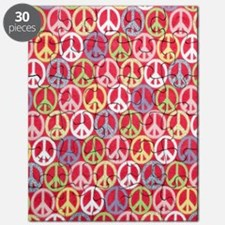 Glitter Peace Signs Puzzle