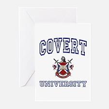 COVERT University Greeting Cards (Pk of 10)
