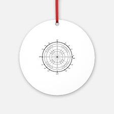 Unit-Circle-Transparent-2000x2000 Round Ornament