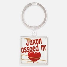 jaxon-b-lassoed Square Keychain