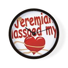 jeremiah-b-lassoed Wall Clock
