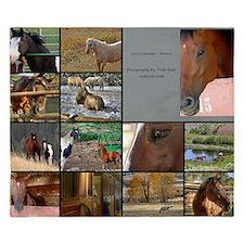 2012 Horses King Duvet