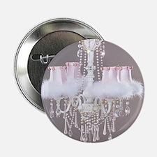 "Shabby-chic-chandelier 2.25"" Button"