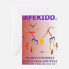 DONT BE AFRAID TO TELL Greeting Card