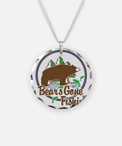Bear's Gone Fishn' Necklace