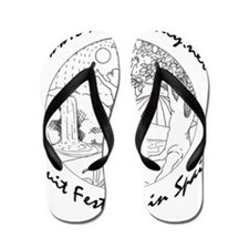 811friendlyfestival_logo_BWmedium_text. Flip Flops