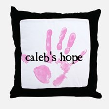 Calebs Hope Logo Throw Pillow