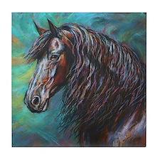 Zelvius painting by Janet Ferraro. Co Tile Coaster