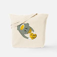 sock monkey YELLOW I LOVE YOU Tote Bag
