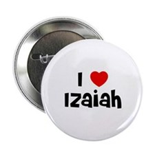 "I * Izaiah 2.25"" Button (10 pack)"