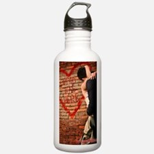 Cupid Large Poster Water Bottle