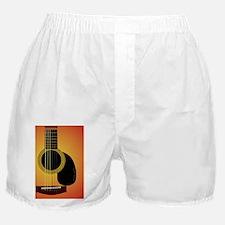 acousticguitar_cherrysunburst_tile Boxer Shorts