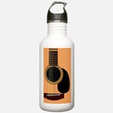 acousticguitar_mpad Water Bottle