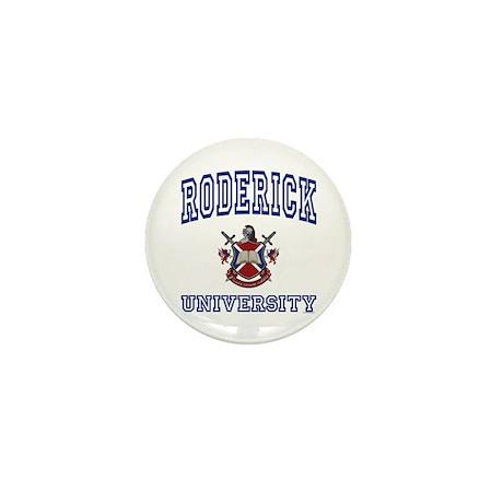 RODERICK University Mini Button (10 pack)