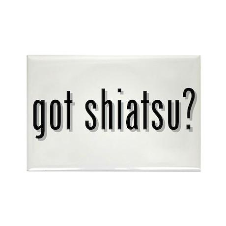got shiatsu? Rectangle Magnet (10 pack)