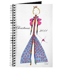 Blue Princess Orament Journal