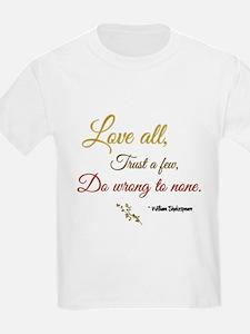 Love All ... T-Shirt