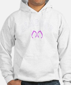 Class Of 2019 Flip Flop White-Pi Hoodie