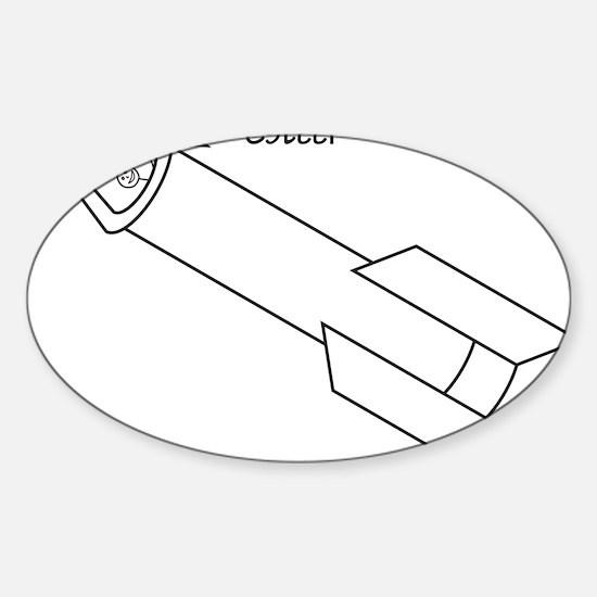 SteveMugArt00 Sticker (Oval)