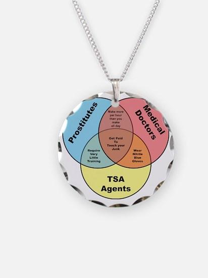 TSA Prostitutes Doctors Necklace