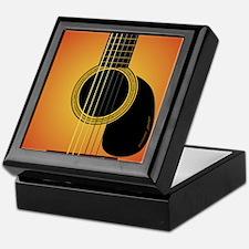 acousticguitar-cherrysunburst_FPprint Keepsake Box