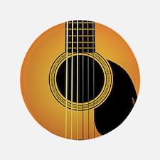 """acousticguitar-cherrysunburst_FPprint_ 3.5"""" Button"""