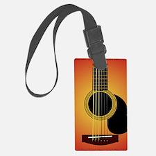 acousticguitar-cherrysunburst_FP Luggage Tag