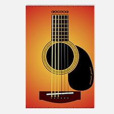 acousticguitar-cherrysunb Postcards (Package of 8)