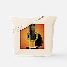 acousticguitar-cherrysunburst_FPprint_Sma Tote Bag