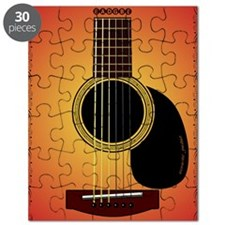 acousticguitar-cherrysunburst_FPprint_Small Puzzle