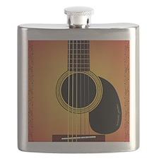 acousticguitar-cherrysunburst_FPprint_Small Flask