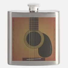 acousticguitar-cherrysunburst_FPprint_Small Flask