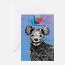 pumi-kindle Greeting Card