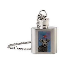 pumi-ovak key Flask Necklace