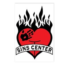 Sins Center Postcards (Package of 8)