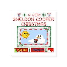 "sheldonchrist Square Sticker 3"" x 3"""