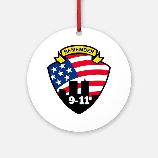 9-11 Round Ornament