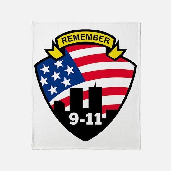 9-11 Throw Blanket