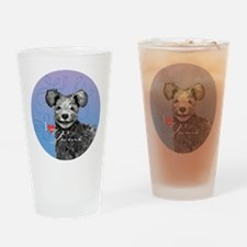 pumi-button Drinking Glass