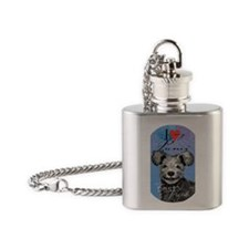 pumi T Flask Necklace