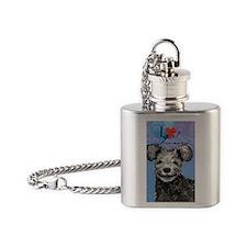 pumi-card Flask Necklace