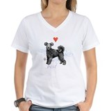 Pet lovers Womens V-Neck T-shirts