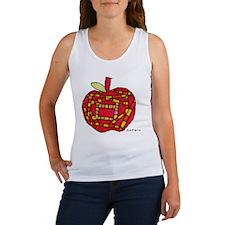 047 Apple Women's Tank Top