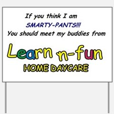 SmartyPants Yard Sign