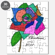 104 Rose Ornament Puzzle
