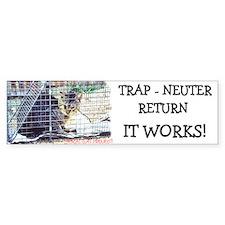 TNR - It Works Bumper Bumper Sticker