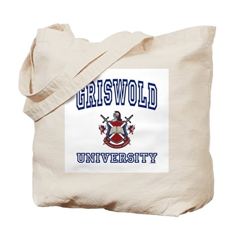 GRISWOLD University Tote Bag