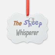 The Sheep Whisperer Ornament